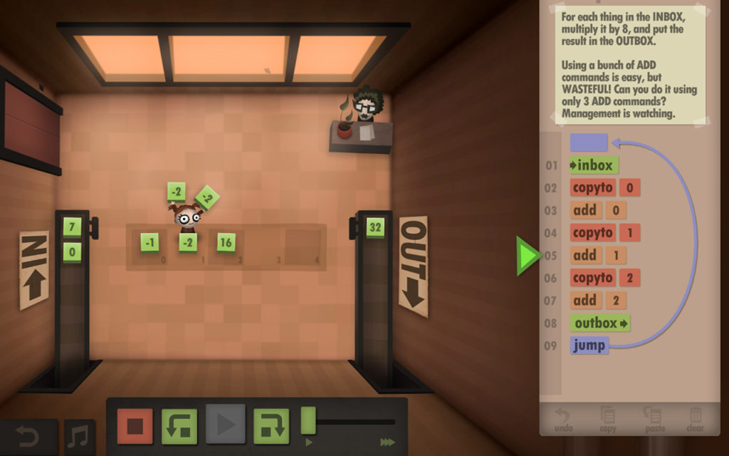 Human resource Machine Gameplay