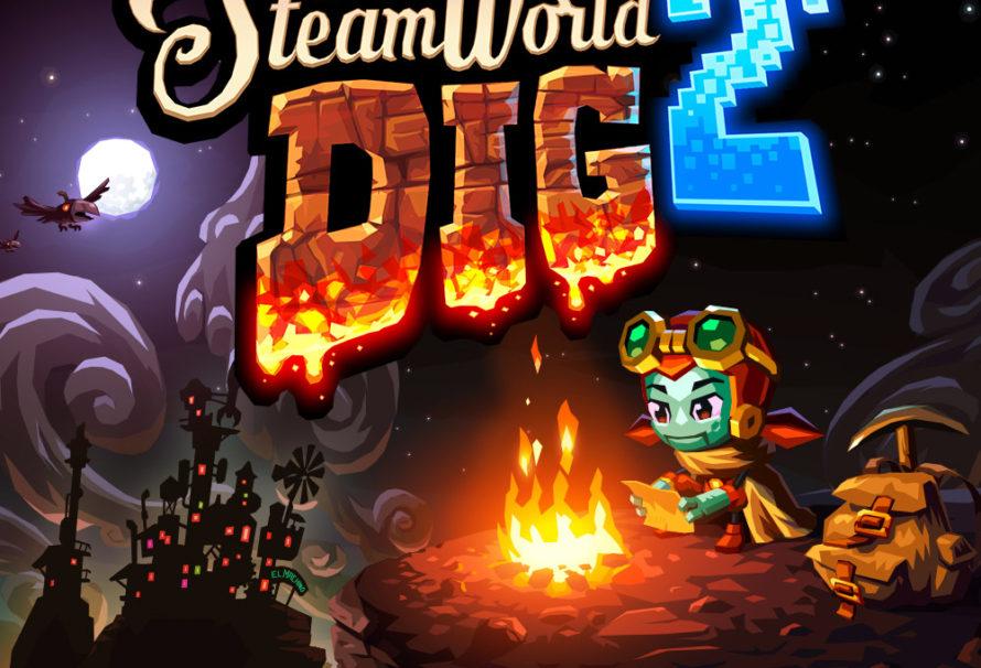 Ecco il primo video gameplay di SteamWorld Dig 2