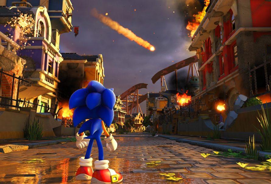 Sonic Forces disponibile da oggi su Nintendo Switch