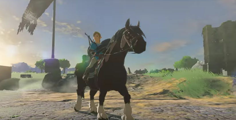 The Legend of Zelda: Breath of the Wild, un glitch permette ai cavalli di avere stamina infinita
