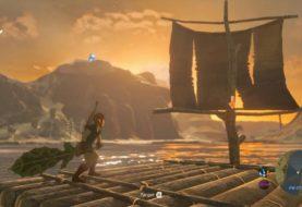 The Legend of Zelda: Breath of the Wild, un utente Reddit è riuscito a trasformare una zattera in un motoscafo
