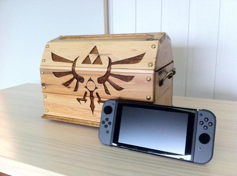 Un baule del tesoro per Nintendo Switch
