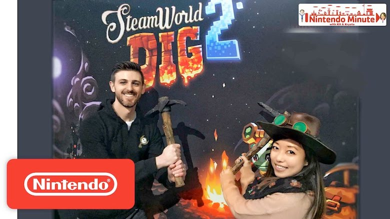 SteamWorld Dig 2 si mostra al Nintendo Minute