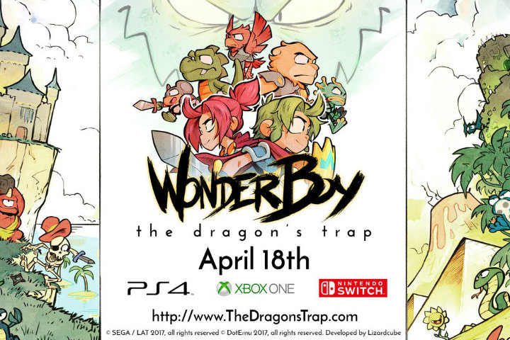 Wonder Boy: The Dragon's Trap – Il trailer di lancio