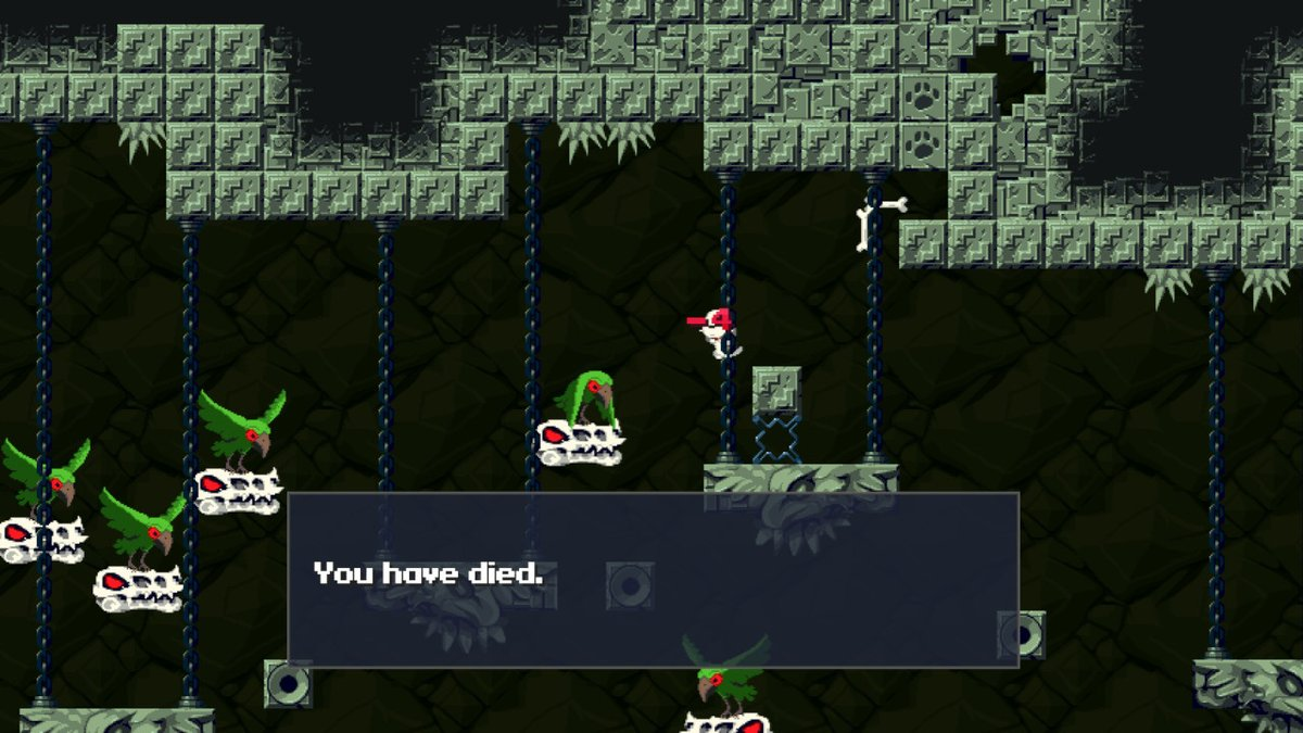 Cave Story+ game over