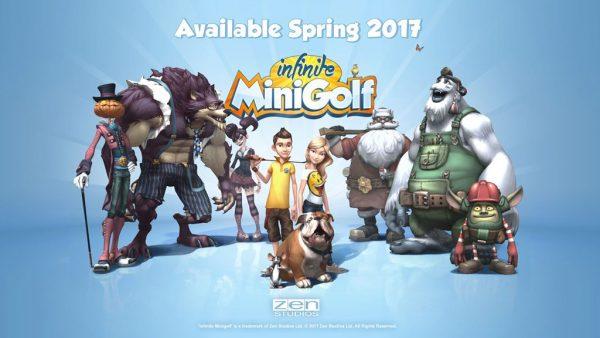 Infinite MiniGolf in dirittura d'arrivo su Nintendo Switch