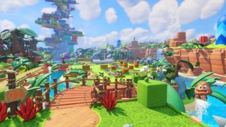 Mario + Rabbids Kingdom Battle Background