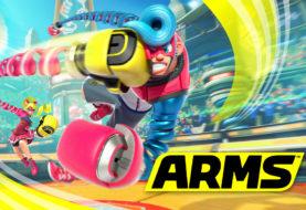 Un'altra immagine sfocata mostra una delle prossime armi disponibili in ARMS