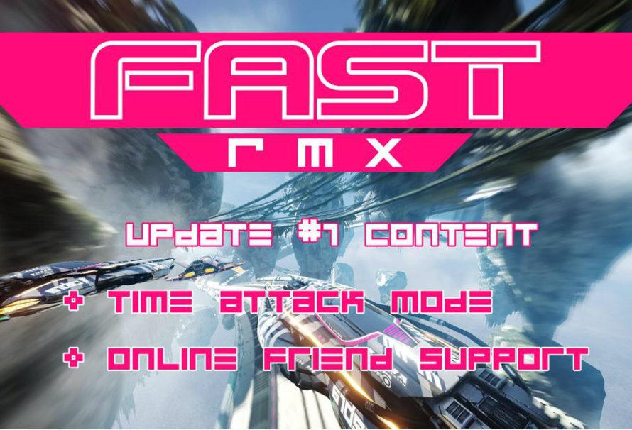 La prima patch di Fast RMX sarà disponibile il prossimo 19 aprile
