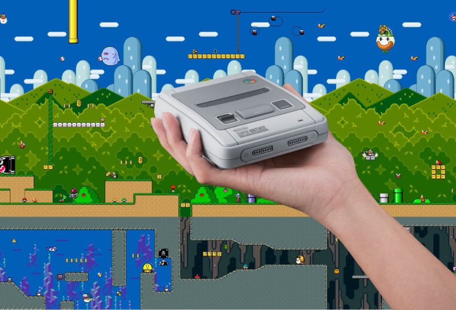 Primo video del Nintendo Classic Mini: SNES