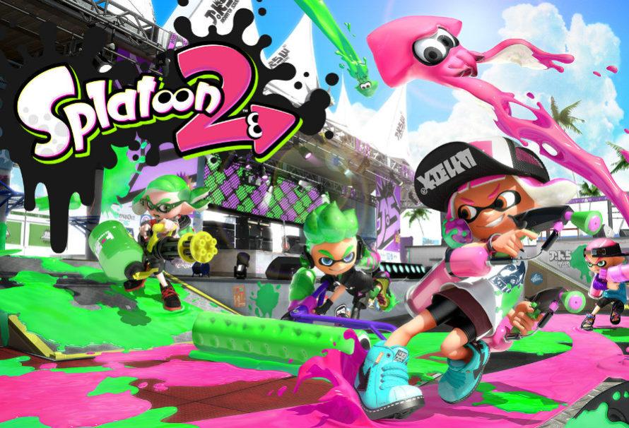 Splatoon 2 ha venduto 670.955 copie fisiche in Giappone nei primi tre giorni!