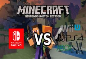 Minecraft per Switch vs WiiU, Ps4 e XboxOne