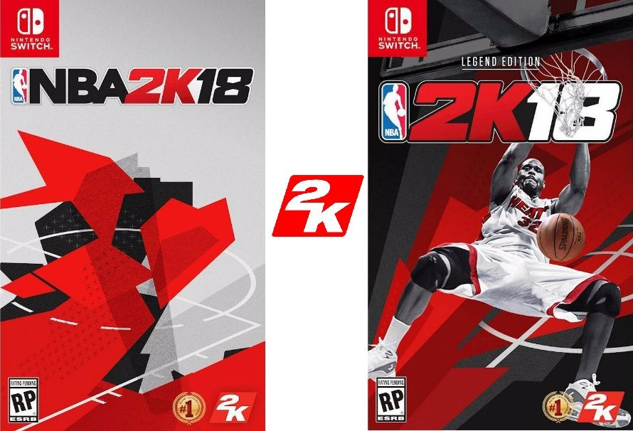 NBA 2K18: Switch vs PS4 PRO vs Xbox One S, confronto in video