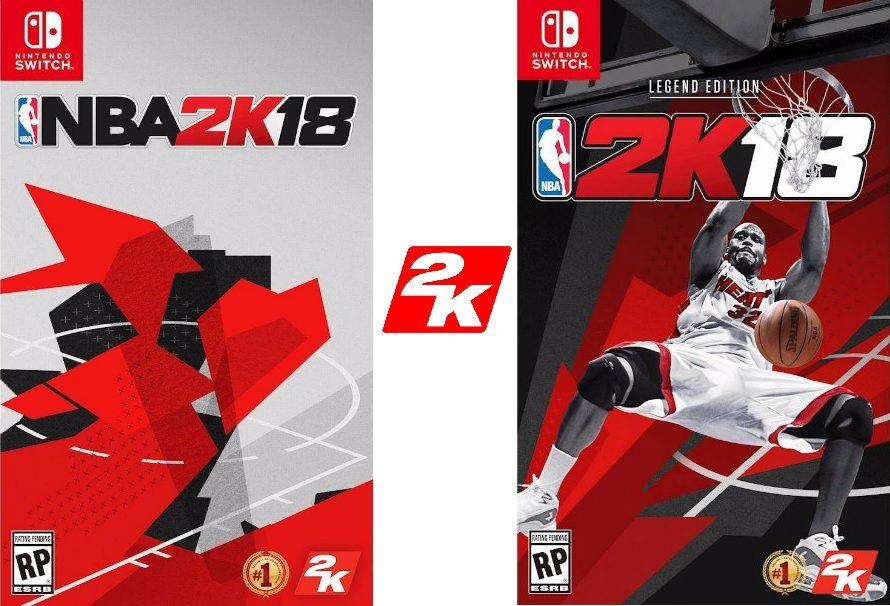 NBA 2K18: Switch vs PS4 PRO vs Xbox One S, confronto in video