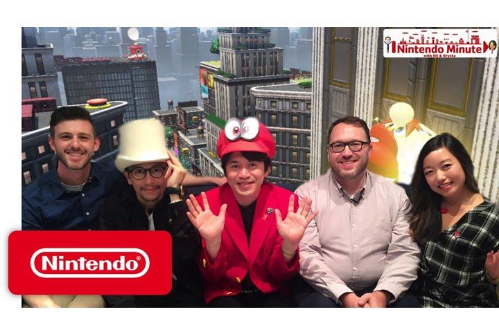 Super Mario Odyssey al Nintendo Minute