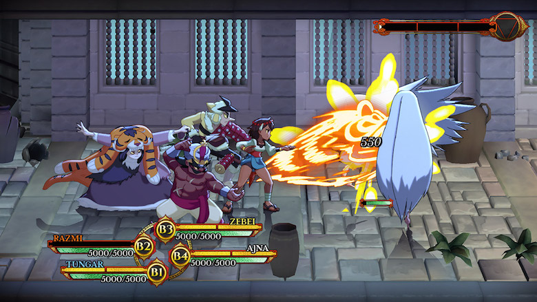 Indivisible gameplay demo