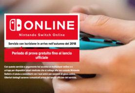 Aggiornamenti sul servizio Online di Nintendo Switch
