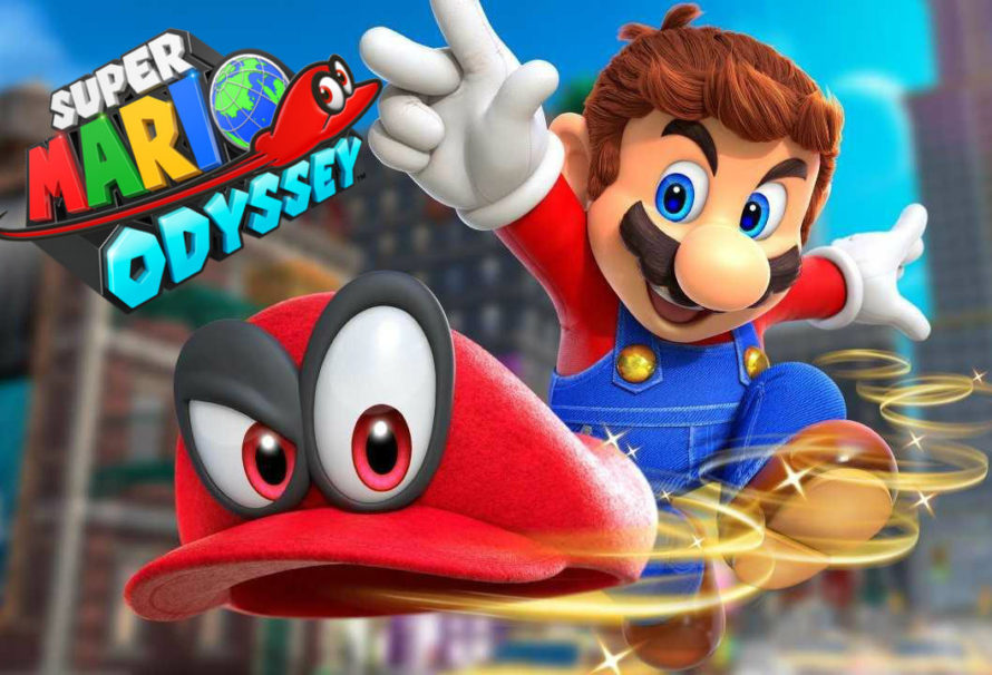 Super Mario Odyssey in contemporanea su tutte le reti Mediaset!