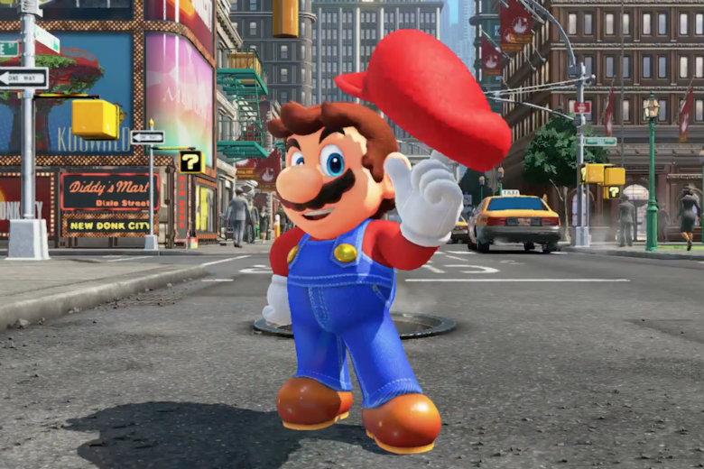 Super Mario Odyssey si mostra in un nuovo trailer mozzafiato