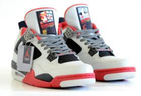 Air Jordan 4 in puro stile NES