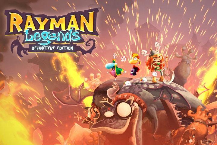 E' da ora disponibile la DEMO di Rayman Legends: Definitive Edition per Switch