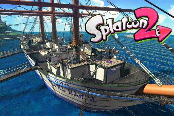 Splatoon 2: L'arma Calamaravaggio è da oggi disponibile