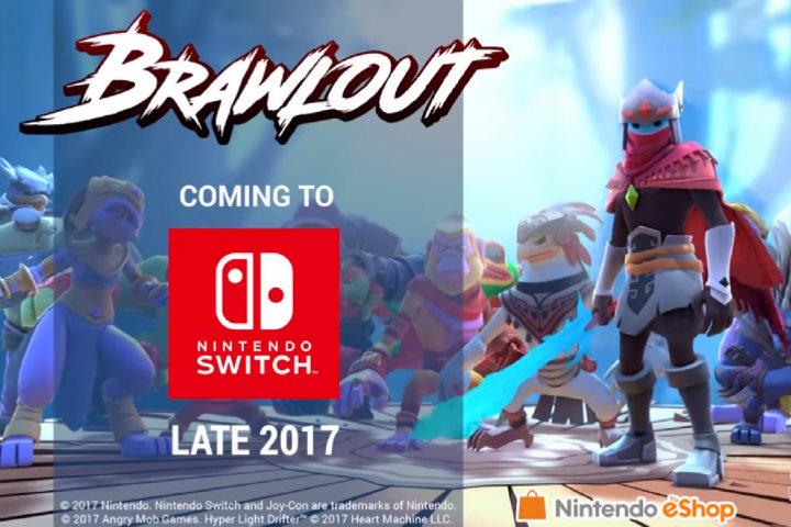Brawlout in arrivo su Nintendo Switch per fine anno