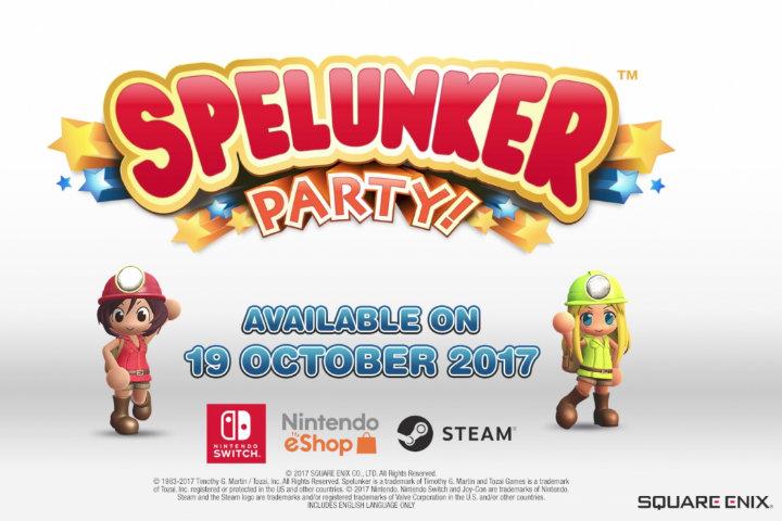 Spelunker Party: la versione localizzata di Minna de Waiwai! Spelunker è in arrivo sui Nintendo Switch Europei