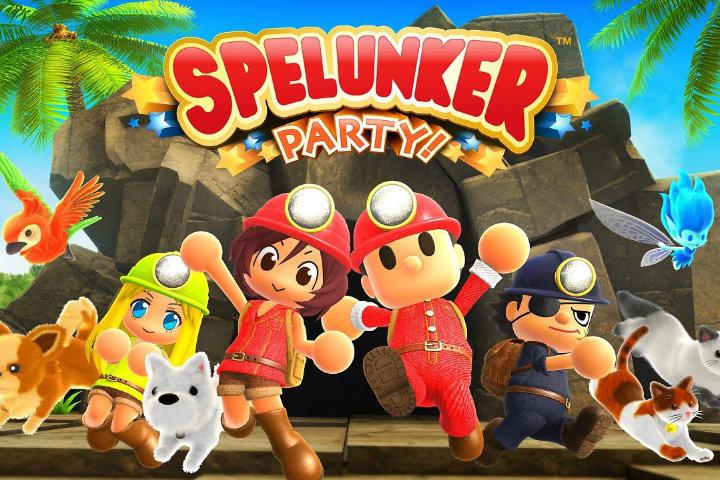 Spelunker Party! E' ora disponibile su Switch e Steam