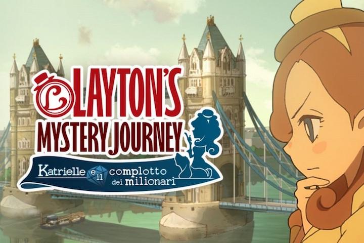 Layton's Mistery Journey – Katrielle e il complotto dei Milionari arriva su Nintendo Switch