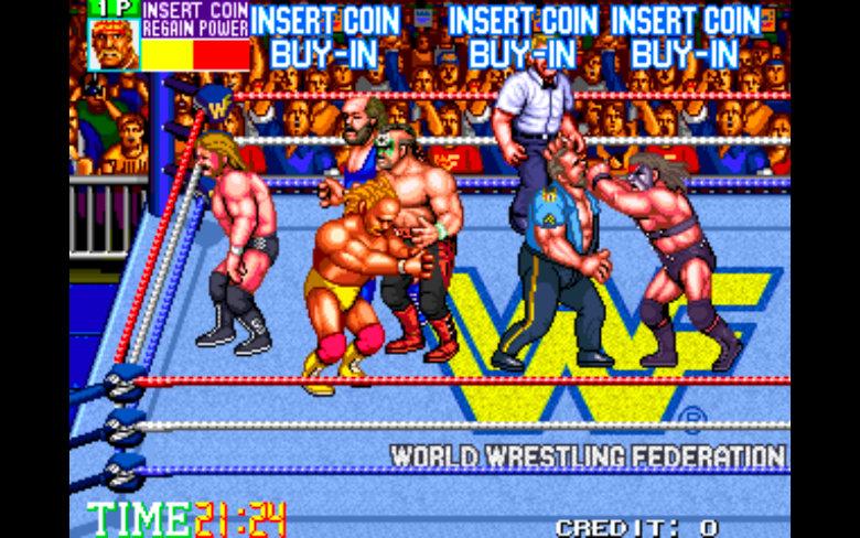 WWF Wrestlefest Arcade