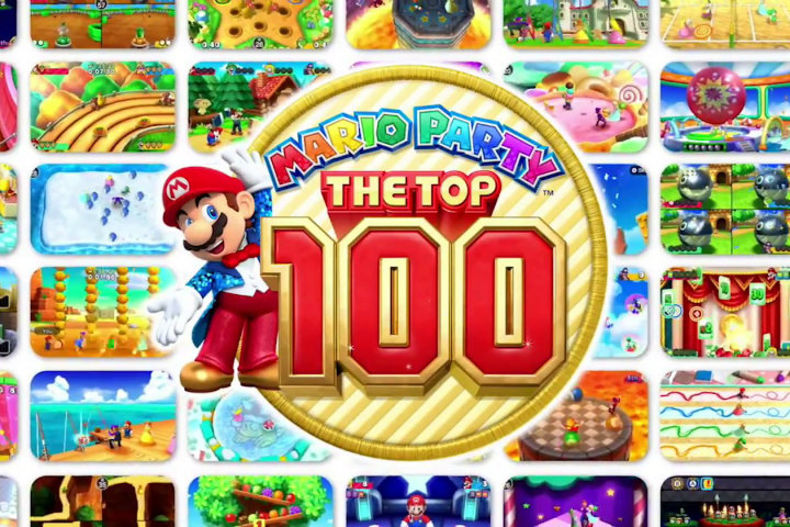 Mario Party: The Top 100 in arrivo pochi giorni prima di Natale