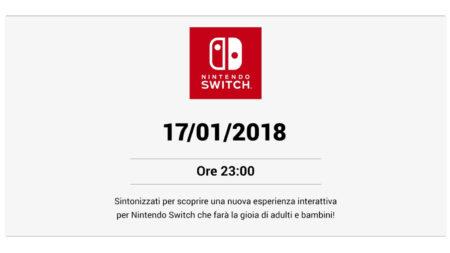 Annuncio Nintendo Switch