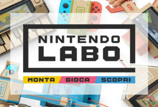 Nintendo Labo: mostrate le basi del Toy-Con Garage!