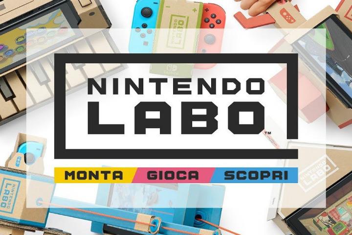 Nintendo Labo, la nuova esperienza interattiva per Nintendo Switch!