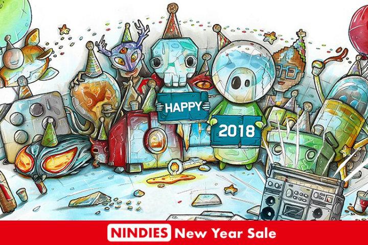 Festeggiamo il 2018 con alcuni interessanti indie in sconto!