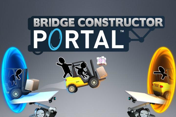 Bridge Constructor Portal in arrivo su Nintendo Switch il prossimo 28 febbraio