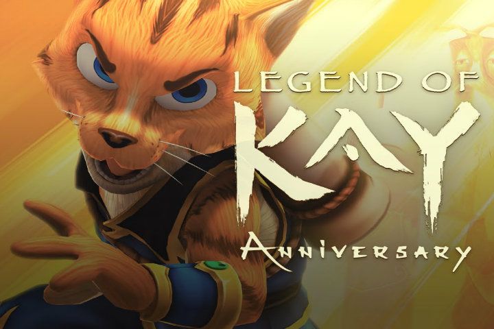 Legend of Kay Anniversary uscirà il 29 maggio su Nintendo Switch!