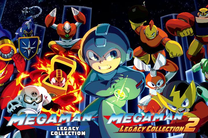 Le due Mega Man Legacy Collection arriveranno il 22 maggio su Nintendo Switch!