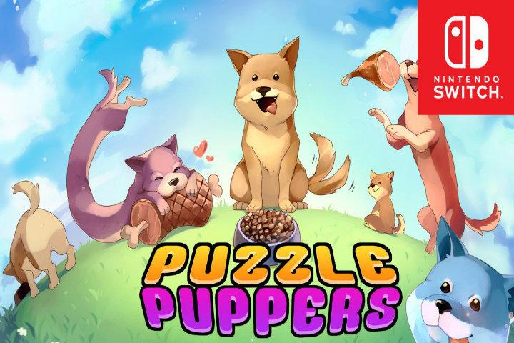 Il tenero Puzzle Puppers arriverà il 20 febbraio su Nintendo Switch!