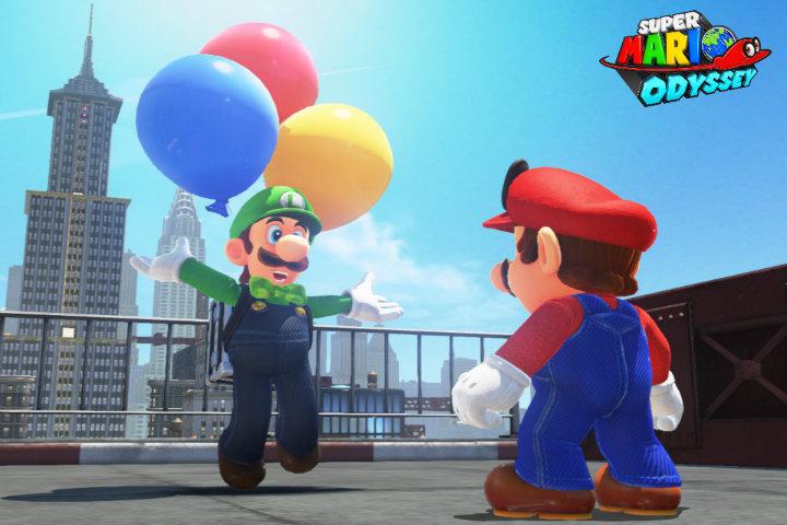 Nuovo mini-gioco, costumi e filtri con l'aggiornamento di Super Mario Odyssey!