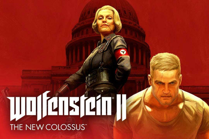 Wolfenstein II: The New Colossus – primi video della versione Switch e conferma del supporto al motion control