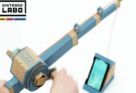 Nintendo Labo: montiamo la canna da pesca!