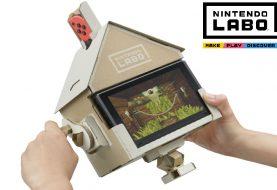 Nintendo Labo: montiamo e proviamo la casa!