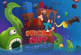Suicide Guy: Sleepin' Deeply arriva oggi, 25 ottobre, su Nintendo Switch!