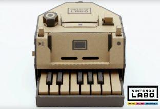 Nintendo Labo: montiamo e suoniamo il piano!