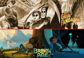 Double fine pubblicherà Grim Fandago Remastered e Broken Age anche su Nintendo Switch