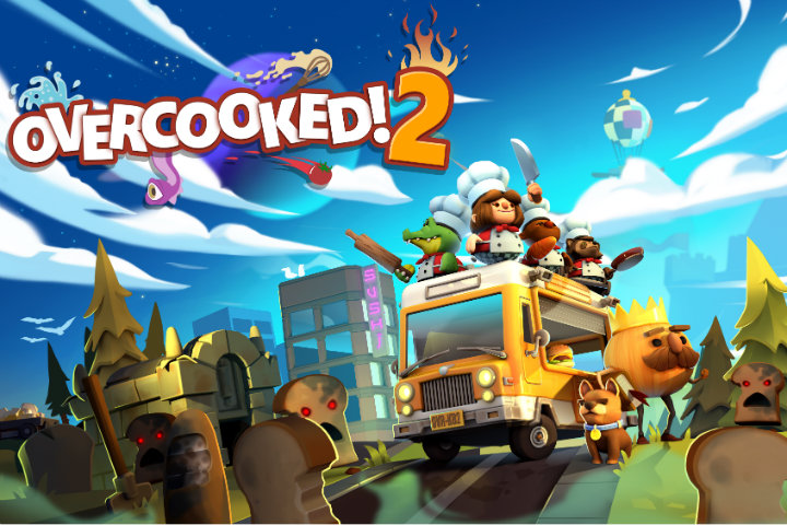Overcooked 2 annunciato ufficialmente per Nintendo Switch, Steam, PS4 e Xbox One