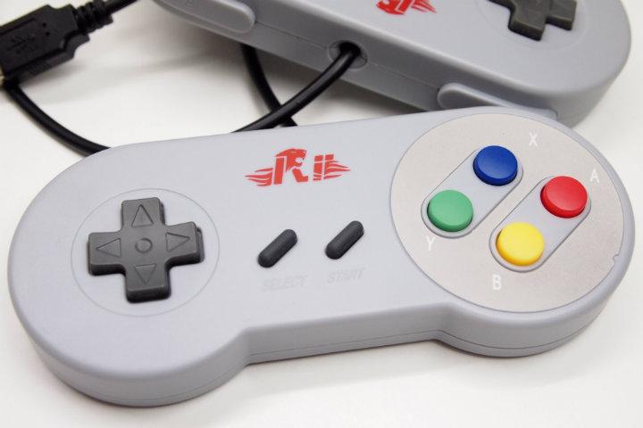 Rii Gaming GP100 – Coppia di controller USB replica del SNES – Recensione