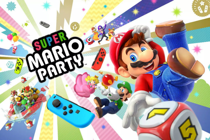 Nintendo annuncia un bundle con Joy-Con per Super Mario Party